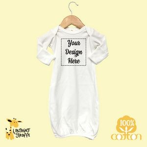 The Laughing Giraffe® Short Sleeve Cotton baby Bodysuit - Pastels